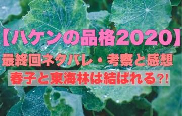 【ハケンの品格2020】最終回ネタバレ・考察と感想!春子と東海林は結ばれる?