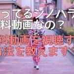 知ってるシノハラは有料動画?予告や篠原恭介の恋の相手役は誰?