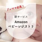 プレママ必見!Amazon新サービス・ベビーレジストリで出産準備ボックスがもらえる。さらに出産準備が10%割引に!