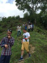 Downhill to Gajeshwor Mahadev