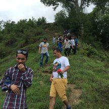 Downhill to Gajeshwor Mahadev