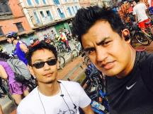 With Mahesh
