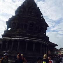 In front of Krishna Mandir