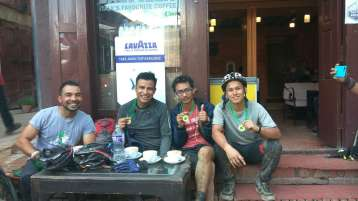 coffee-time-after-completeing-the-ride