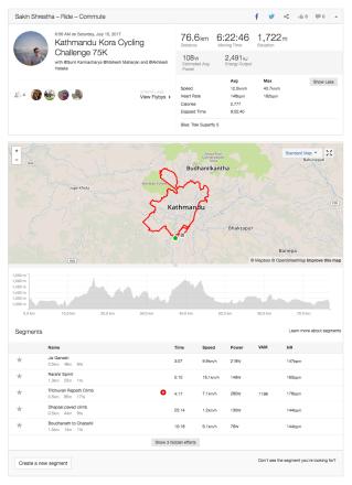 strava-kathmanu -kora-cycling-challange-75K-ride