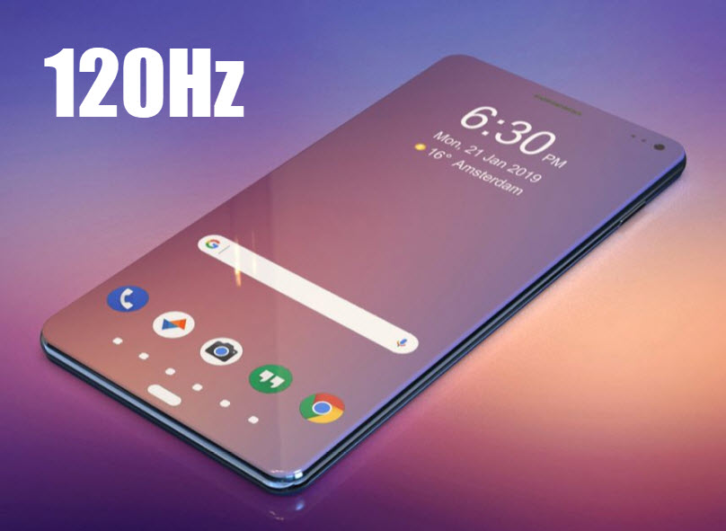 Samsung Galaxy S11 could have 120Hz Refresh Rate on it's Display | SAKITECH