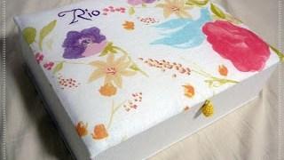 イトコへ出産祝にメモリアルボックス