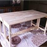 木工初心者が机作ってます