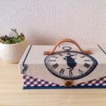 Aliceのmini金庫、ウサギの時計