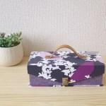 mini金庫 紫の鳥さん