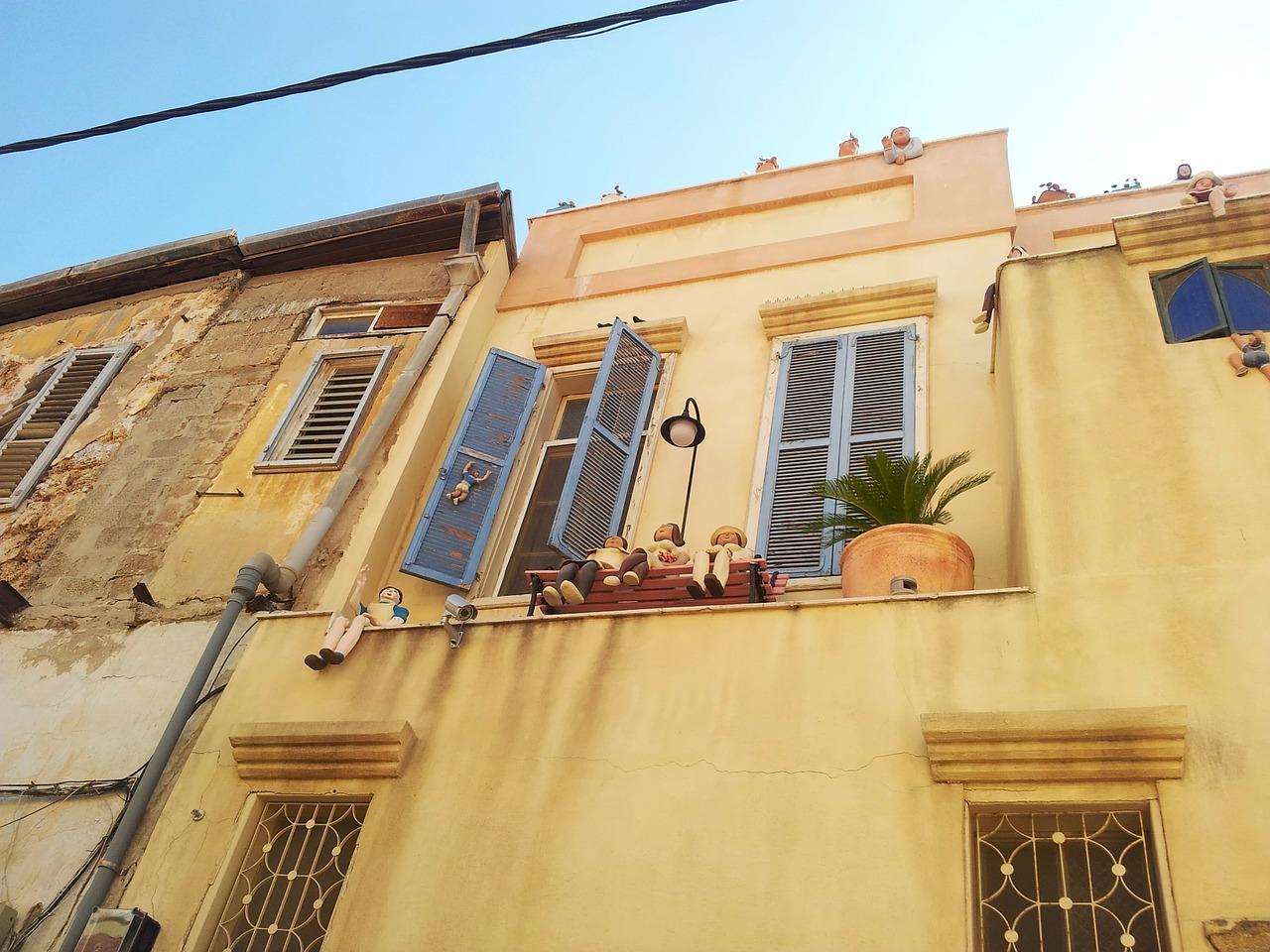 בית ברחוב בתל אביב