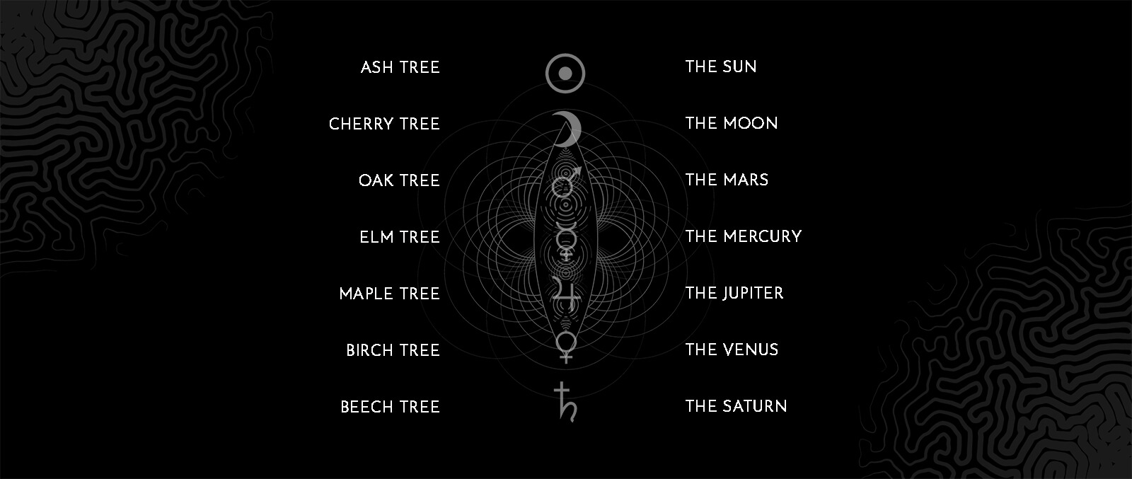Planets & Trees
