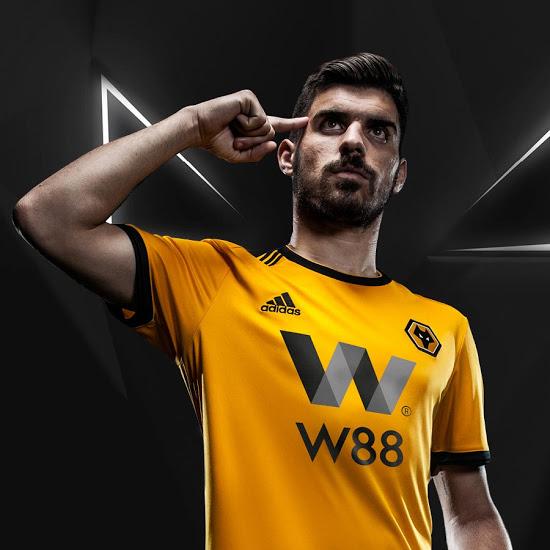 adidas Wolverhampton 2018/19 Hjemmebane- og Udebanetrøje 2