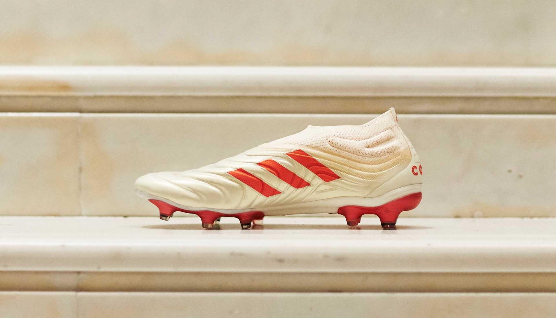 Mød adidas Copa 19+ | Den første læderstøvle uden snørebånd |