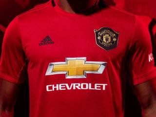 adidas lancerer Manchester United 2019/20 Hjemmebanetrøje 10