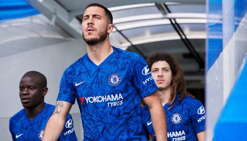 Nike præsenterer Chelsea 2019/20 Hjemmebanetrøje 8