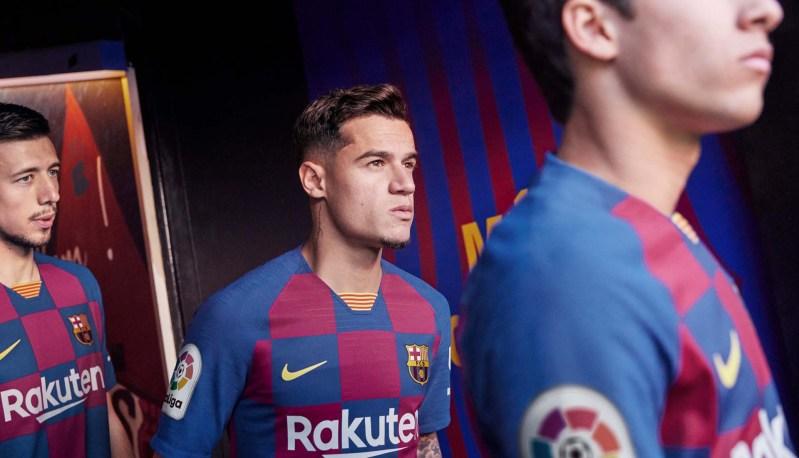 Nike Barcelona 2019/20 Hjemmebanetrøje 9