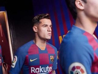 Nike Barcelona 2019/20 Hjemmebanetrøje 8