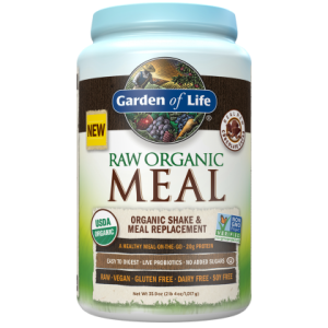 garden of life raw meal shake