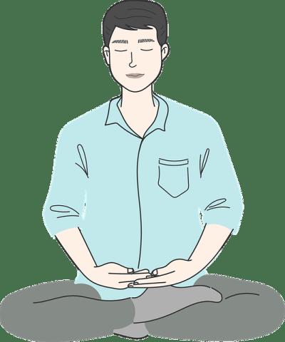 Man Meditation Yoga Relaxation  - Saydung89 / Pixabay