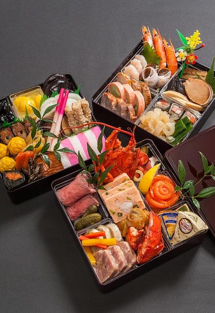New Year Dishes Japanese Food  - hot-sun / Pixabay
