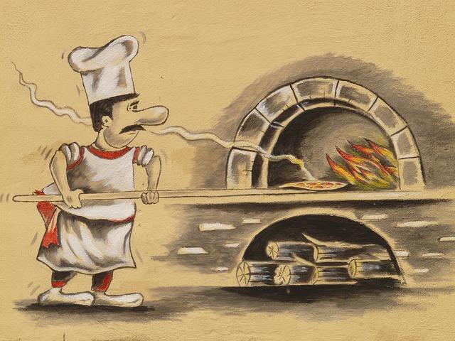 Pizza Maker Pizzeria Pizza Oven  - Hans / Pixabay