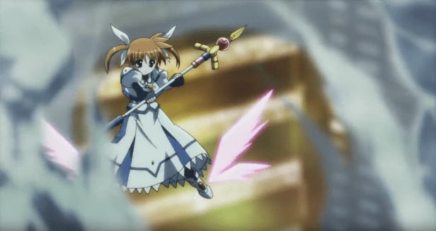 Nanoha Scene from Series