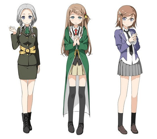 3 New Maerchen Characters
