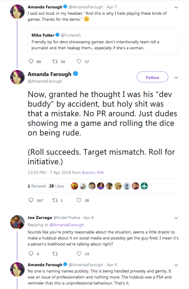 Game Journalists Humiliate themselves