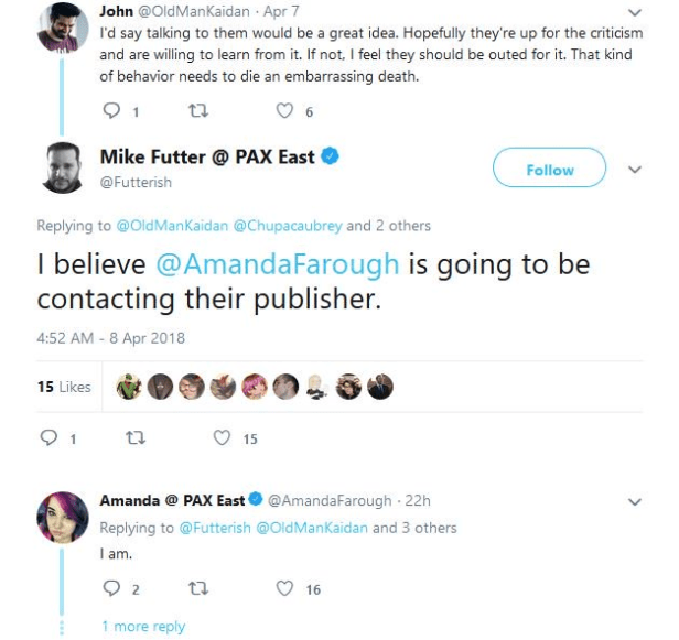 Game Journalists at it again