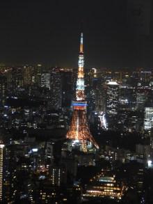 Tour de Tôkyô depuis Tôkyô View
