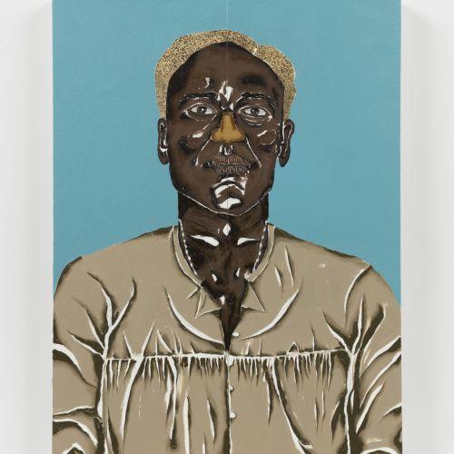Dalton Paula, Zumbi dos Palmares, óleo sobre tela, 2020.