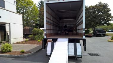 At the start of the drive, filling the truck looked like a long ways to go!