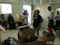 Jumana, our Jordan volunteer coordinator and Rawsan Sawalha, president of the NASN