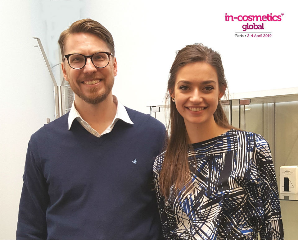 Alf Jarmeus and Natasa Ilic In-Cosmetics 2019