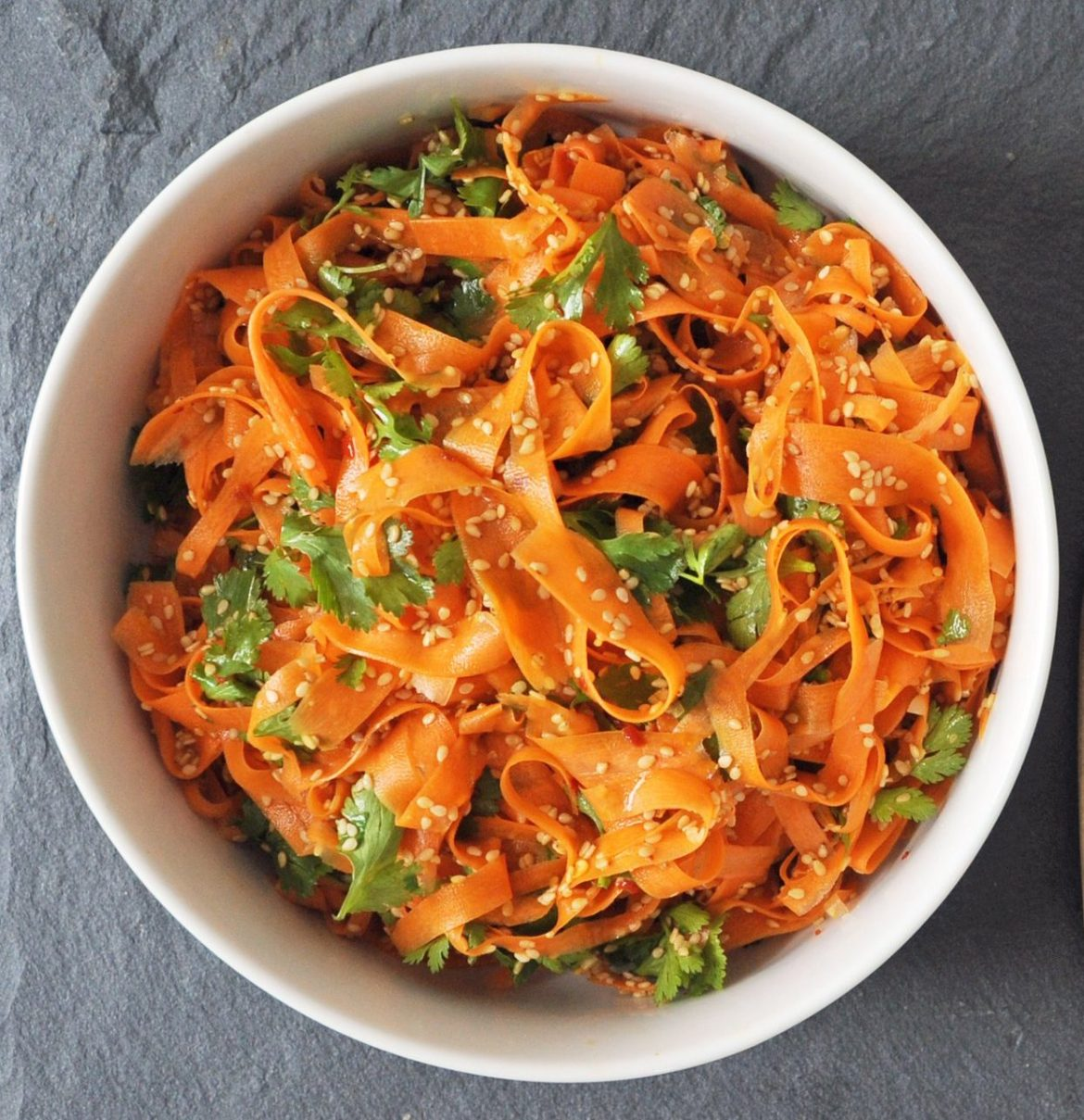 Easy Spicy Carrot Salad