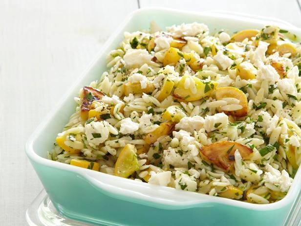 Squash and Orzo Salad