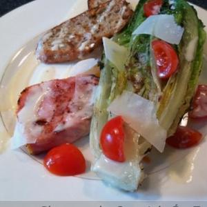 Deconstructed Caesar Salad (adapted from Roland's recipe)