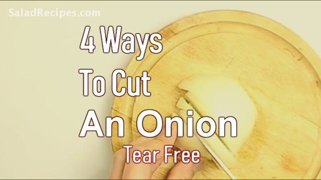 4 Ways To Cut an Onion Without Crying