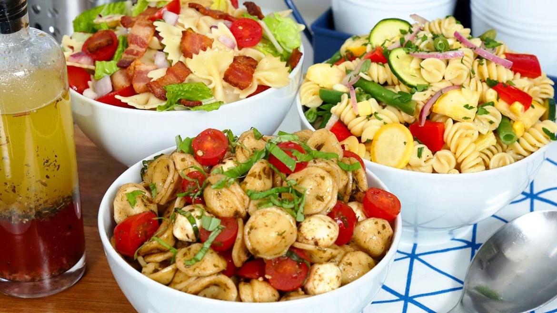 Easy Pasta Salad 3 Delicious Ways