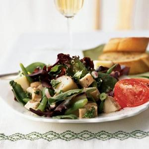 Chicken, Red Potato, And Green Bean Salad