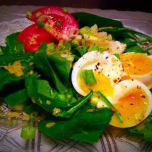 Spinach Power Salad