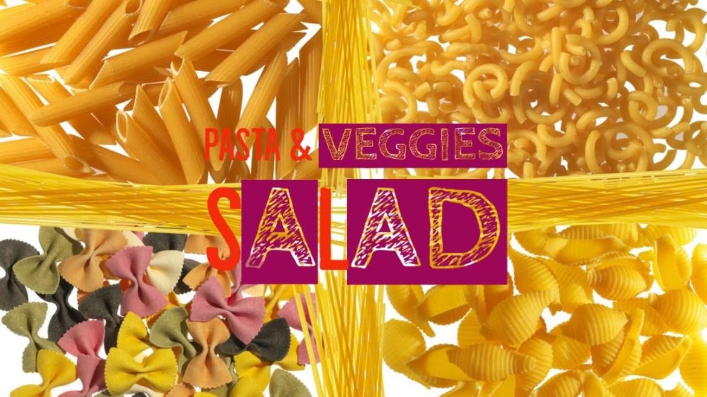 Veg & Pasta Salad   Diet Recipe