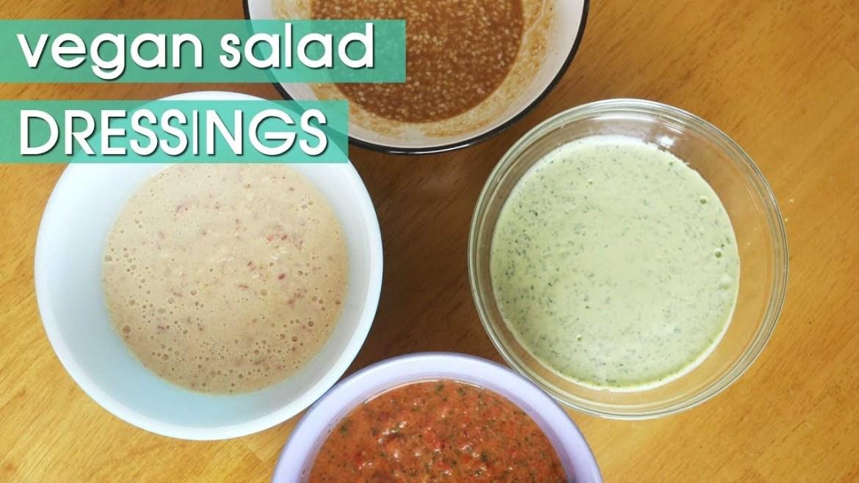 6 Delicious Homemade Vegan Salad Dressing Recipes