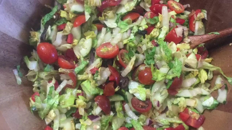 No Fat Raw Vegan Greek Salad Dressing Recipe