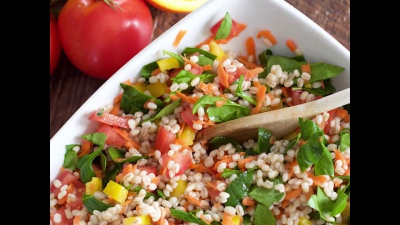 Veggie Barley Salad – SNAP4CT Recipe