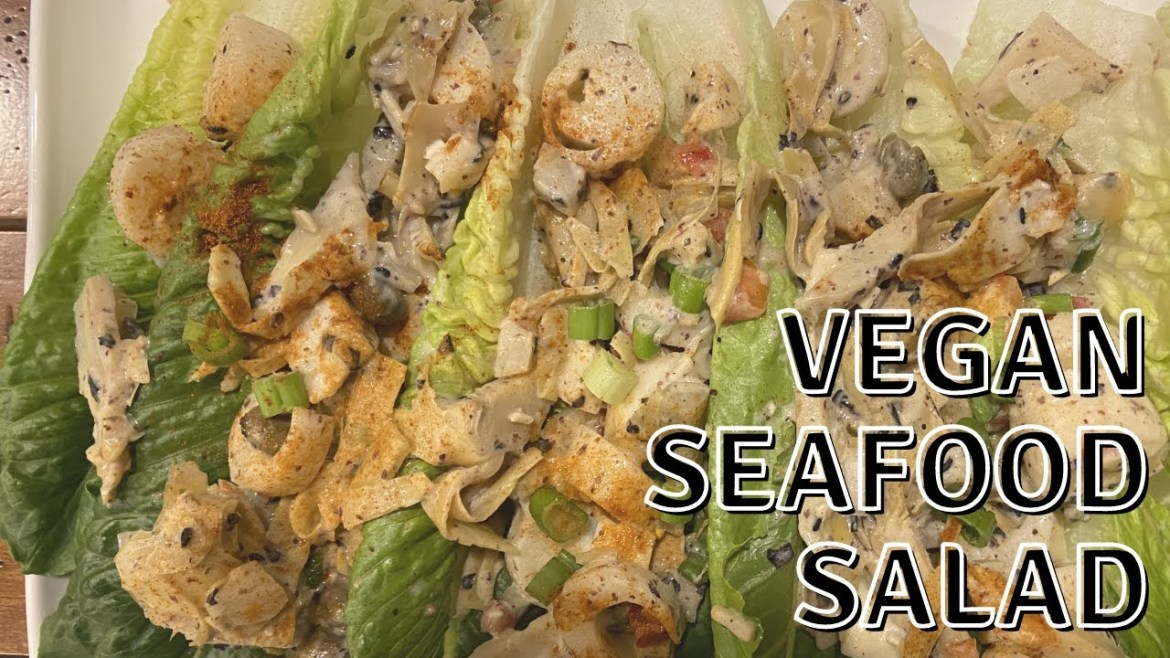 How To Make Vegan Seafood Salad | Hearts of Palm Recipe | WannaBee Chef