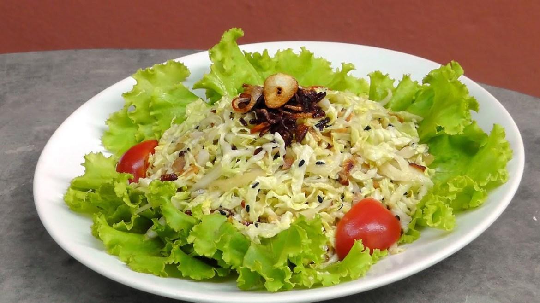 Burmese Ginger Salad – Gin Thoke – Vegan Vegetarian Recipe