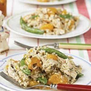 Orange-Wild Rice Chicken Salad recipes