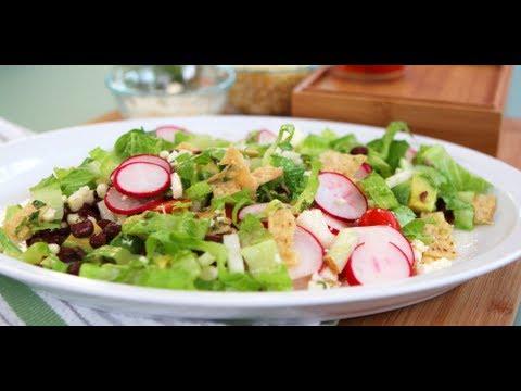 Vegetarian Taco Salad Recipe | Vegetarian Recipes | POPSUGAR Food